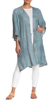ALL IN FAVOR Garment Dyed Kimono Cardigan