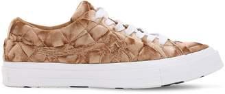 Converse X Tyler The Creator Golf Le Fleur Ox Brown Sugar Sneakers