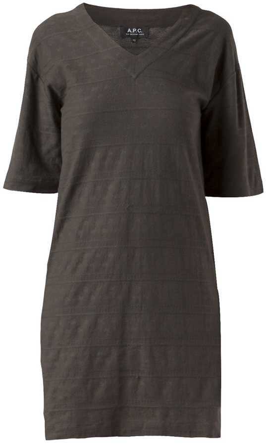 A.P.C. robe minimal dress