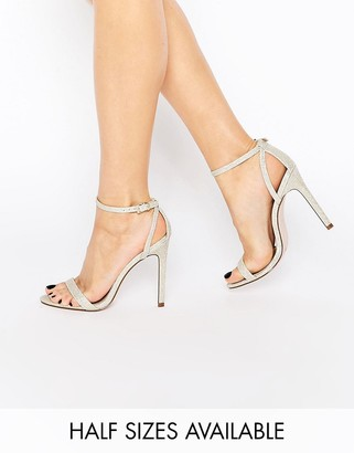ASOS HIGH FIVE Heeled Sandals $40 thestylecure.com