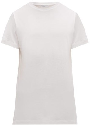 John Elliott Supima Cotton Blend T Shirt - Mens - White