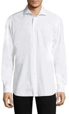 Luciano Barbera Cotton Dress Shirt