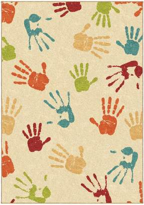 Home Outfitters Handprints Area Rug
