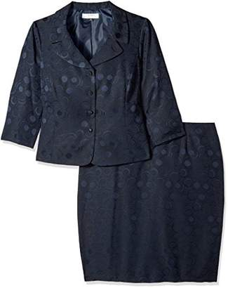 d4f2403bdec07 Tahari by Arthur S. Levine Women's Plus Size Tahari ASL Jacquard Skirt Suit