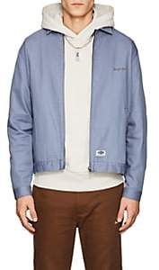 Dickies CONSTRUCT Men's Logo Cotton Mechanic's Jacket - Blue