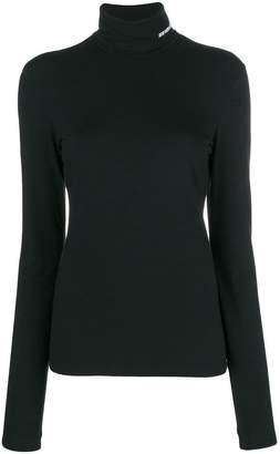 Calvin Klein logo rollneck sweater
