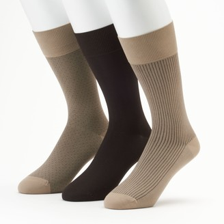 Marc Anthony Men's Microfiber Dress Socks