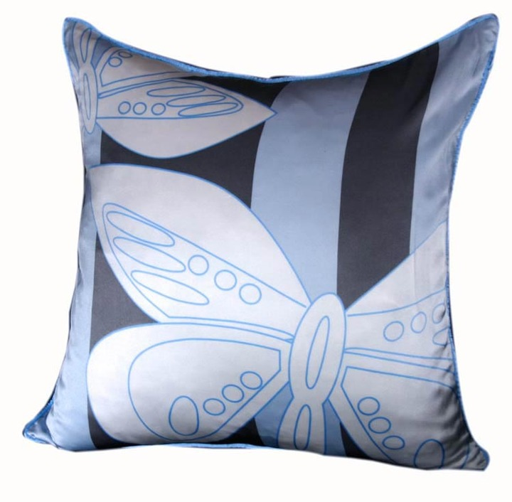 Plush Living - Nook Butterfly Silk Pillow