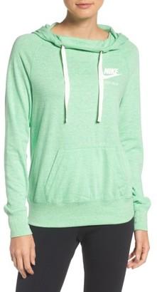 Women's Nike Sportswear Gym Vintage Hoodie $55 thestylecure.com