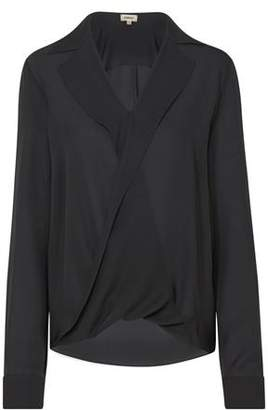L'Agence Rita Blouse in Antique Black