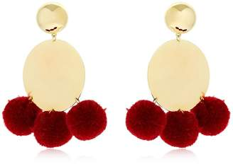 Elizabeth and James Stevie Pompom Earrings