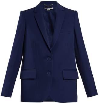 Stella McCartney Single-breasted wool jacket