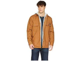 Dickies Relaxed Fit Icon Hooded Duck Quilted Shirt Jacket