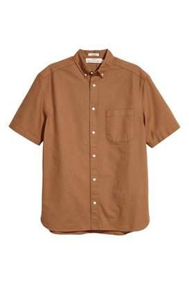 H&M Short-sleeve Shirt Regular fit