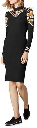 Karen Millen Fair Isle Sweater Dress