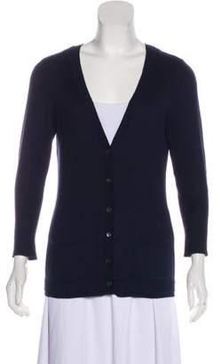 Magaschoni Knit V-neck Cardigan