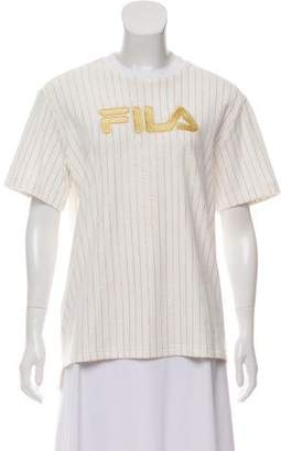 Fila Embroidered Short Sleeve Top w/ Tags