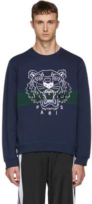Kenzo Navy Urban Tiger Sweatshirt