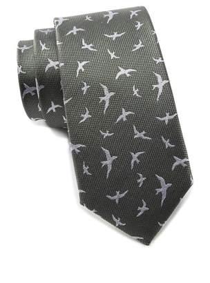 Ben Sherman Kolby Birds Silk Tie