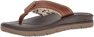 Freewaters Men's Tall Boy Xt Leather Flip Flop Sandal
