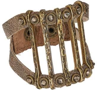 Leather Rock Molly Bracelet