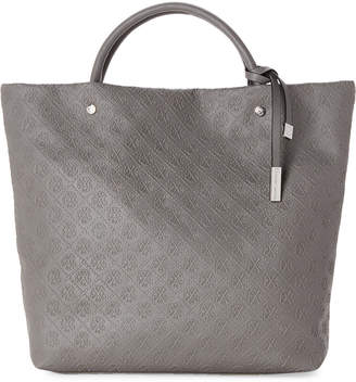 Christian Lacroix Clemence Embossed Logo Tote