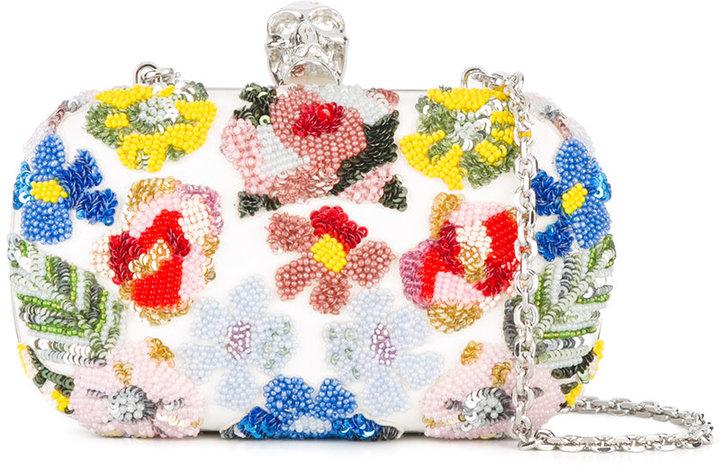 Alexander McQueenAlexander McQueen Skull box clutch