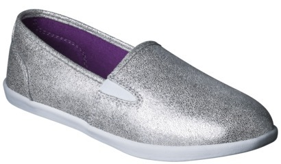 Circo Girl's Helen Canvas Shoe - Silver