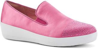 FitFlop Superskate Crystal-Toe Slipon Sneaker