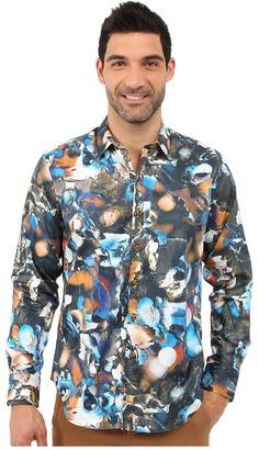 Robert Graham Indian Ocean Sport Shirt $228 thestylecure.com