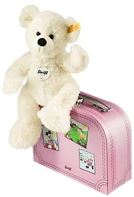 Steiff Lotte Teddy Bear in a Suitcase Soft Toy