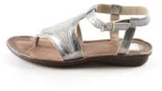 Khrio Silver Thong Sandal