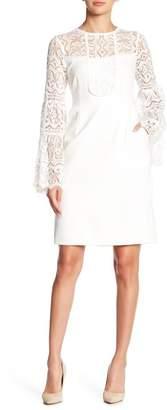 Nanette Lepore Latin Lovers Lace Bell Sleeve Dress