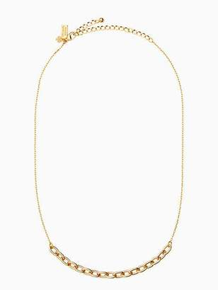Kate Spade Chain reaction link mini necklace