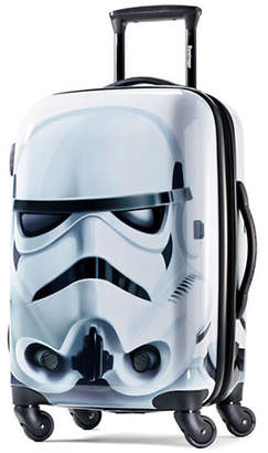 American Tourister Star Wars Storm Trooper 20-Inch Spinner Carry-On Expandable Suitcase