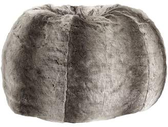 47498336fd ... Pottery Barn Teen Dark Gray Ombre Faux-Fur Beanbag