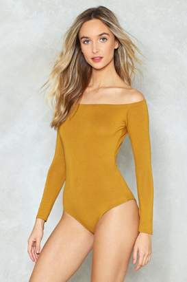 Nasty Gal Sri Off Shoulder Bodysuit