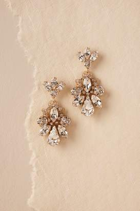 Elizabeth Bower Gena Crystal Earrings