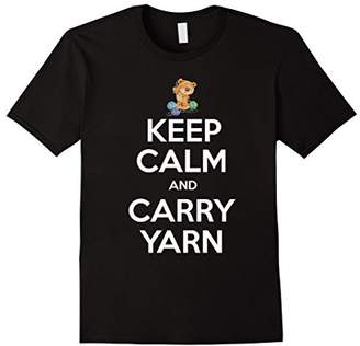 Keep Calm and Carry Yarn Shirt