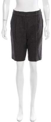 Chloé Knee-Length Wool Shorts