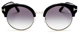 Tom Ford Women's Allissa Round Sunglasses, 54mm