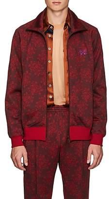 Needles Men's Floral Jersey Track Jacket - Wine