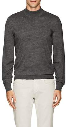 Luciano Barbera MEN'S WOOL MOCK