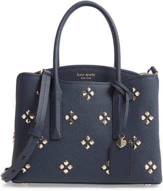Kate Spade Medium Margaux Embellished Leather Satchel