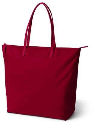 Lands' End Red Tote Bag