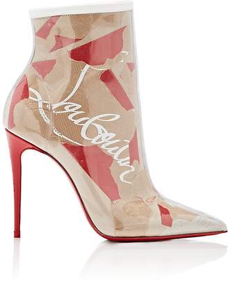 Christian Louboutin Women's So Kate PVC Ankle Boots