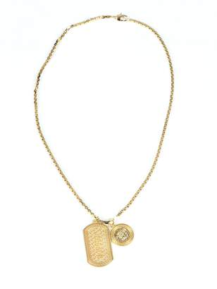 Versace Gold Metal Necklace