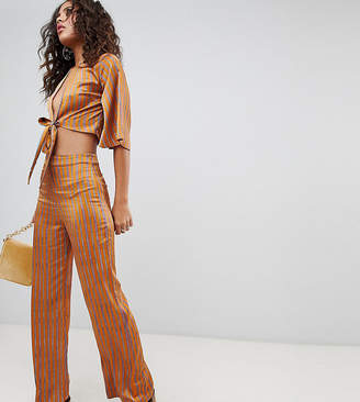 Fashion Union Tall High Waist Pants Two-Piece