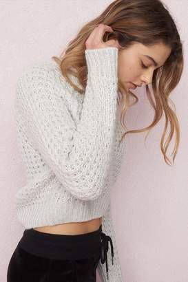 Garage Crop Sweater - FINAL SALE