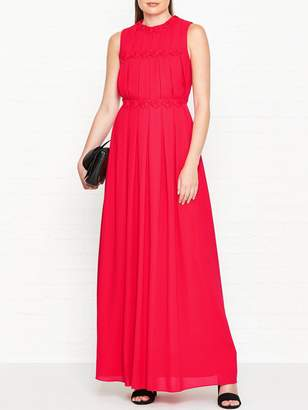 Ted Baker Saffrom Origami Folded Maxi Dress - Red